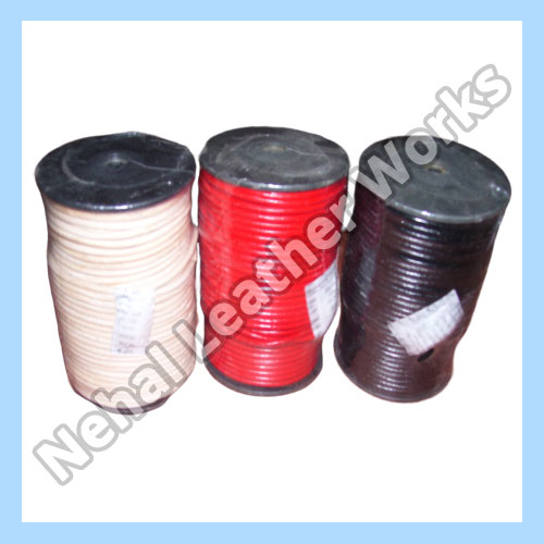 Round leather cord Exporters