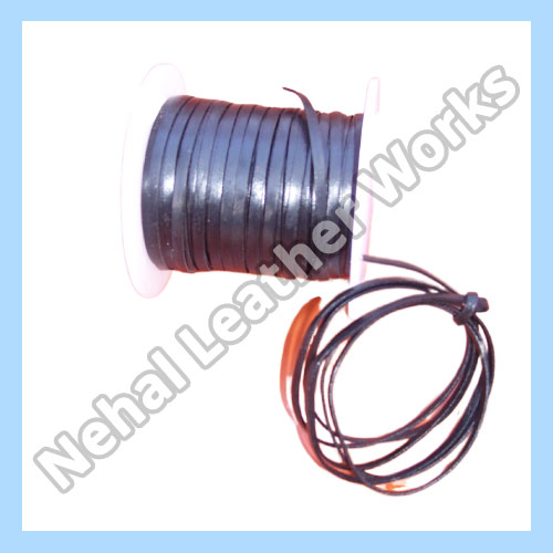 Flat leather cord Manufacturers