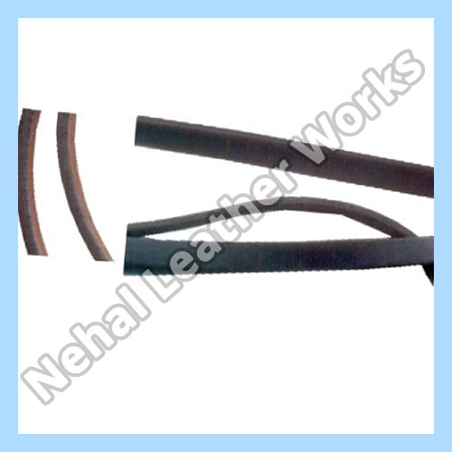 Flat leather cord Exporters
