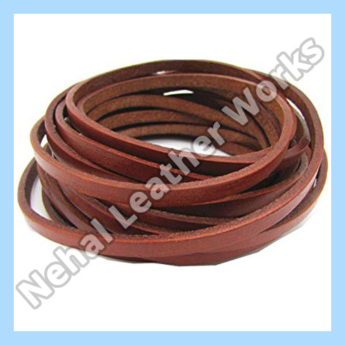 Flat leather cord Suppliers