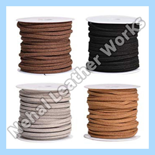 Suede leather cord Exporters