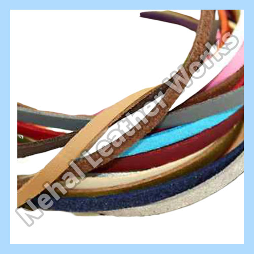 Flat Leather Cord In Kolkata